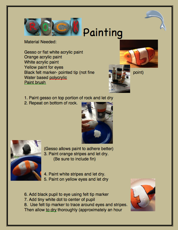 Rock Painting Page 1